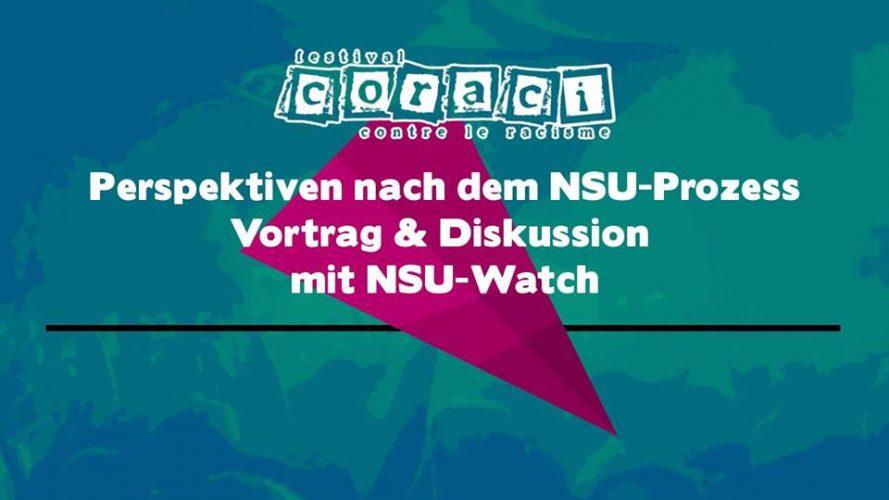 Perspektiven nach dem NSU-Prozess - Vortrag & Diskussion