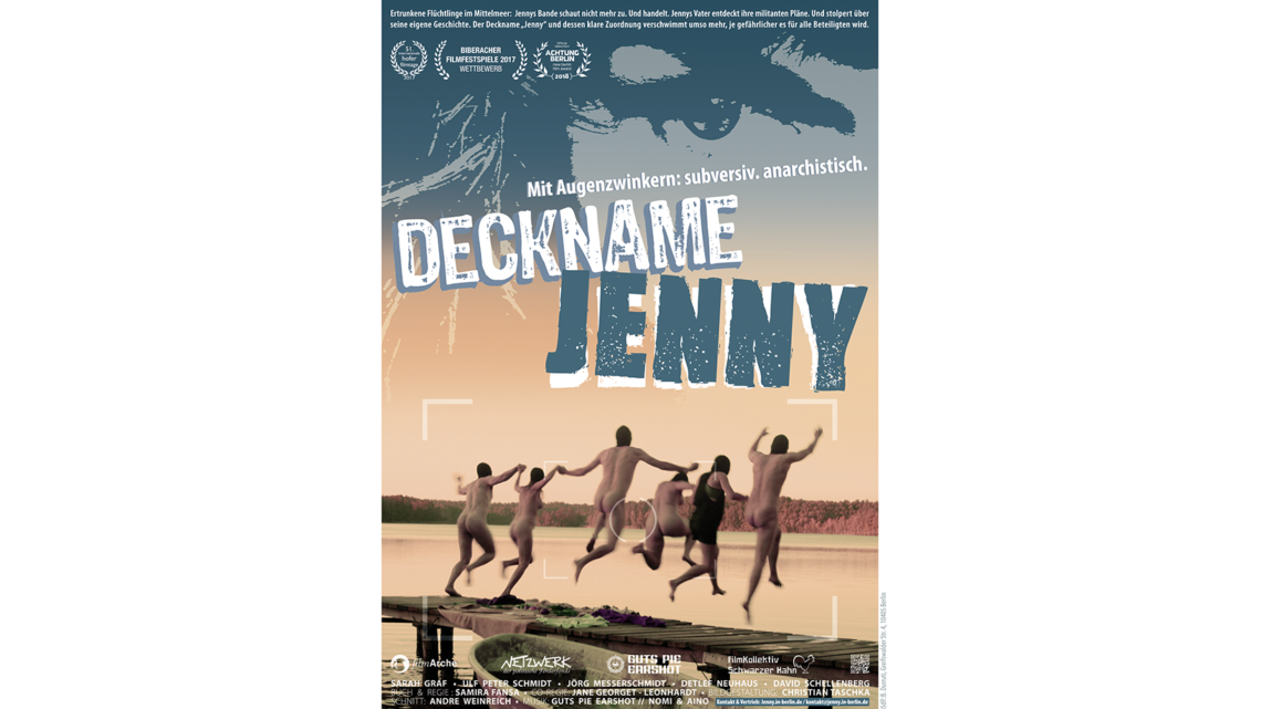 Deckname Jenny / Stream vom 06. – 09.06. verfügbar / Gespräch zum Film 09.06., 18h