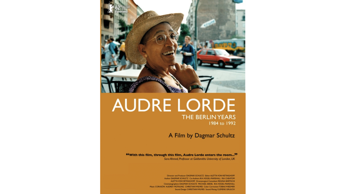 Audre Lorde – The Berlin    Years 1984 to 1992 / Stream am 14.06.
